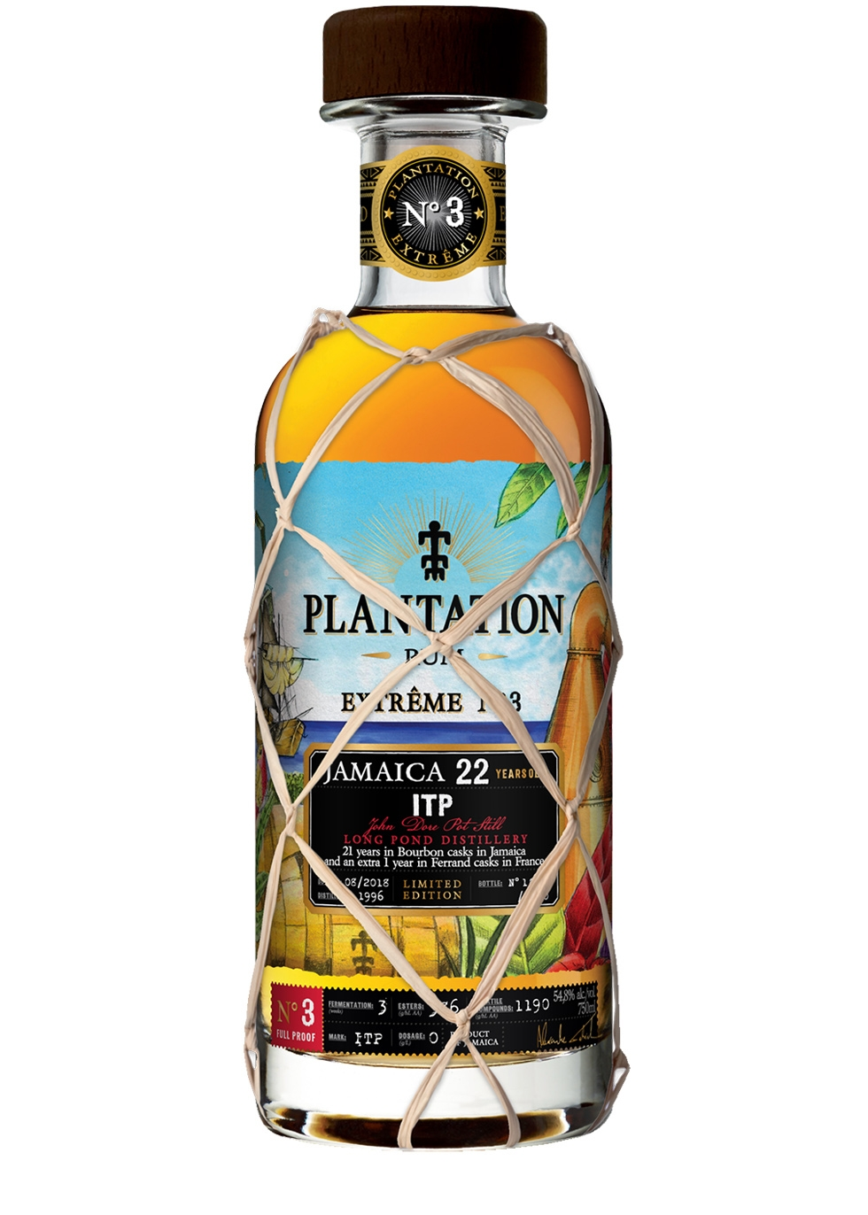 Plantation  Extrême No.3 ITP 22 Year Old Jamaican Rum