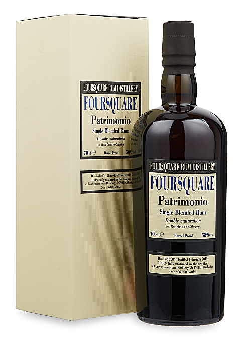 Foursquare Rum Distillery  Patrimonio Single Blended Rum