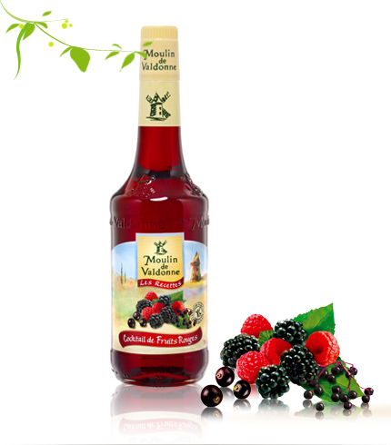 COCKTAIL de FRUITS ROUGES - směs lesních plodů