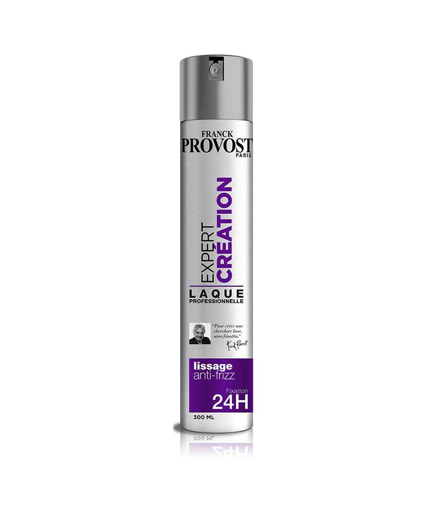 Lak na vlasy FRANCK PROVOST - Expert CREATION-Lissage Anti-frizz 300ml