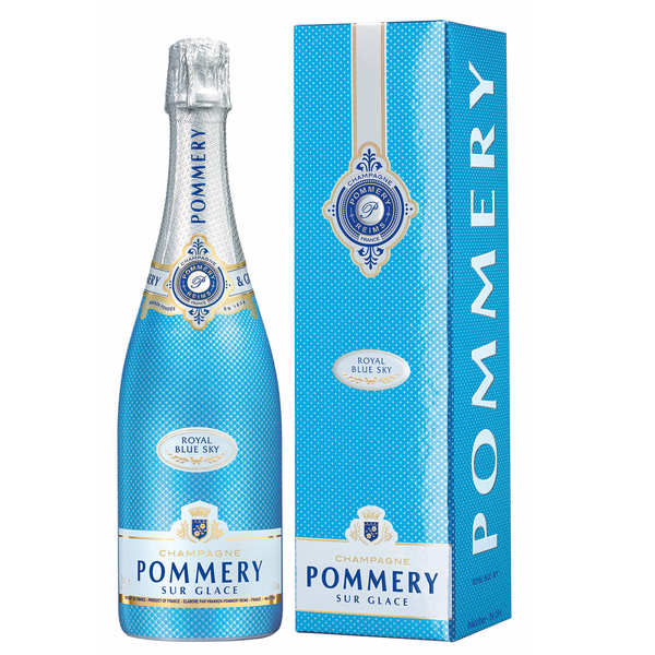 Champagne POMMERY Royal Blue Sky