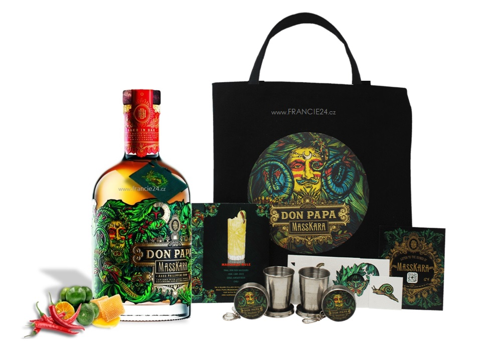 Don Papa Masskara 40% 0,7L PARTY EDITION