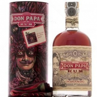 Don Papa 7ans 0,7L Art Edition + šátek