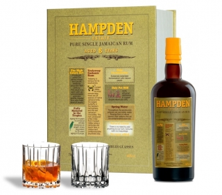 Hampden Estate 8 years old 0,7L + 2x glass